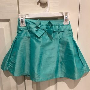 Gap Toddler Girls Aqua Blue Skirt Size 3